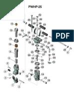 Manual Perfuratriz PWHP 25 (Antiga 658).pdf