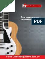 9 formas de interrpetar un mismo acorde en la guitarra