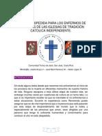 RITO DE DESPEDIDA IGLESIA CATOLICA INDEPENDIENTE