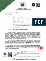 OUAMemo_8115_SHD_2020 NDEP Webinar Series_2020_08_18