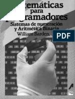 Matemáticas para Programadores - William Barden, Jr. - 1ra Edición.pdf