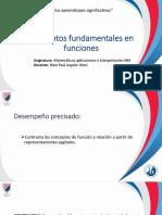 Conceptos fundamentales en funciones SES4