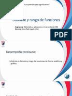 dominio y rango de funciones SES3