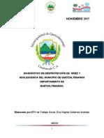 Diagnóstico de Desprotección de la Niñez y Adolescencia en el Municipio de Quetzaltenango 2017