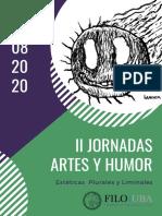 Programa II Jornadas Humor2020