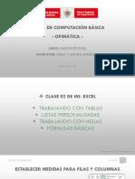 Clase 02 - Listas personalizadas, Formato de tablas