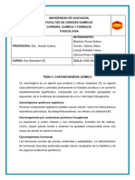 8. TAREA 3 -CARCINOGÉNESIS QUÍMICA Y REACTIVOS- SUBGRUPO 7
