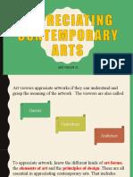 Day 1.4 Appreciating Contemporary Arts.ppt