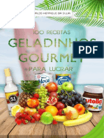 GELADINHO GOURMET PARA LUCRAR