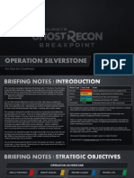 Ghost Recon Breakpoint - Operation Silverstone Intro