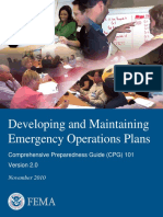 Comprehensive Preparedness Guide 101, version 2.0