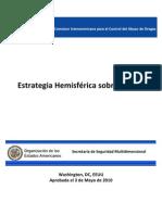 estrategia hemisferica sobre drogas