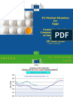 EGG price analysis europe