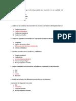 Cuestionario conductas TEA