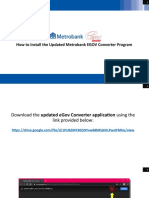 How To Install the Updated Pag-IBIG eGov Converter