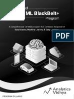 Syllabus (AI & ML BlackBelt+ Program)