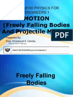 Motion - Free failing Bodies and Projectile Motion.pptx