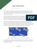 Improving Chain Lubrication