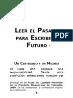 Actas del Capitulo Provincial de los Dominicos de Colombia - Prologo