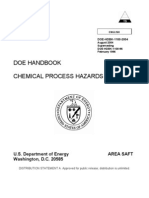 chamical process hazard analysis
