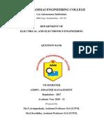 GE8071-Disaster Management