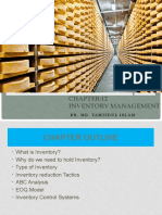 Chapter 12- Inventory Management