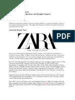 Zara Brand Prism Analysis, Brand Associations and Branding Strategies