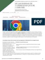Chrome - Cómo borrar las barras de búsqueda no deseadas que se instalan en Chrome.pdf