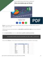 EXCEL - Cómo hacer un gráfico de doble eje en Excel.pdf