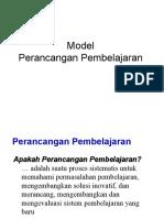 Model Perancangan Pembelajaran Integrasi ICT