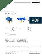 Listado Piezas GM800