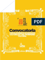 FORTALECIMIENTO DE ESPACIOS CULTURALES Y DEL PATRIMONIO CULTURAL