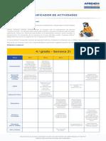 Matematic4 Semana 21 Planificador Ccesa007
