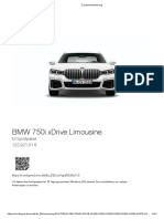 BMW 750i M 122k