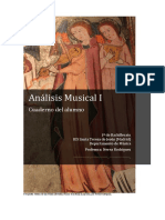 Cuaderno Análisis Musical Básico