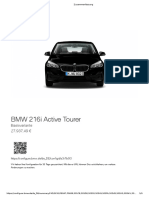 BMW 216i Active Tourer 27.9k