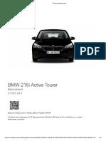 BMW 216i Active Tourer 27.9k
