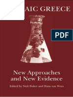Archaic Greece New Approaches and New Evidence