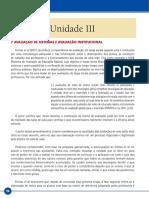 Avaliacao Educacional Livro – Unid III