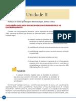 Avaliacao Educacional Livro – Unid II