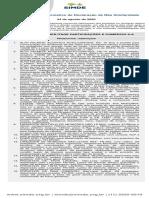 IDNS 002/20 Informativo de Declaração de Não Similaridade