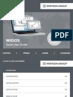 WIDOS - fr - Quick User Guide