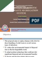 Development of Robotic driven waste segregation system-2