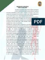 Analisis de Pelicula Pase Lo Que Pase
