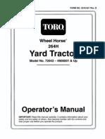 TORO LX460 SERVICE MANUAL   Nut (Hardware)   Screw