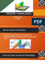 ANALISIS Y RAZONES FINANCIERAS