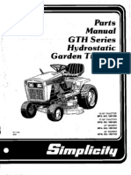 Case Garden Tractors Case Electrical Systems Service Manual