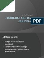 Fisiologi Sel Dan Jaringan