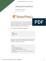 Getting Started with TensorFlow.js – TensorFlow – Medium.pdf