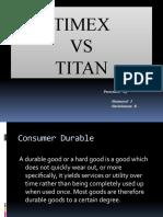 Titan Vs Timex